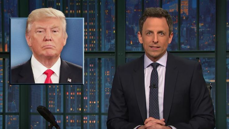 Seth Meyers to Donald Trump: Stop Stealing 'SNL''s Bits http://www.gq.com/story/seth-meyers-donald-trump