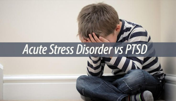 After a traumatic event, children can react in ways that raise the concern of parents.However, acute stress disorder vs PTSD are two different things.