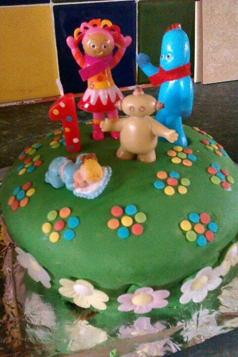 1000 images about night garden cakes on pinterest for In the night garden cakes designs
