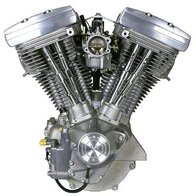 """Influence - Harley """"Evolution"""" running from 1984-1999. This Engine marked a big redesign for Harley Engines changing the head design considerably from previous itterations. (www.factoryfat.com, 2002)"""