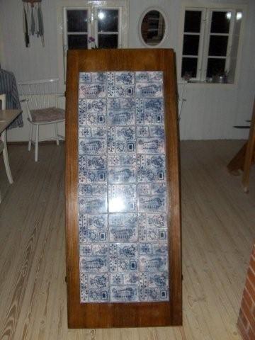 Kakkelbord a,la Bjørn Wiinblad
