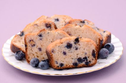 Healthy Apple And Blueberry Loaf