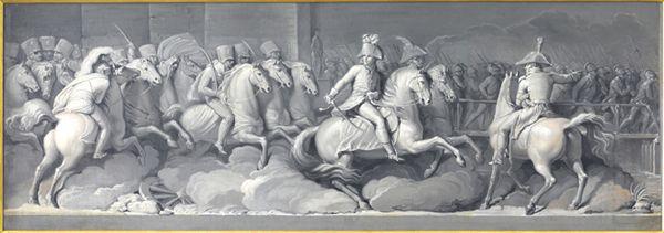 """#GrandiRitorni // #GAMMilano la scorsa settimana è tornata in #museo l'opera """"Cavallo al galoppo"""" (1887-89) di #GiovanniSegantini."""