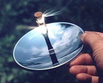 Solar Spark Lighter  Cool Camping Gadget  Survival Tool