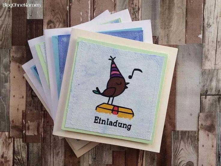Einladungskarten mal anders - Kindergeburtstag