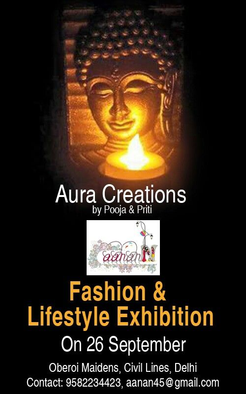 This #Diwali, spread light into the life of your loved ones by #gifting them #candles, #lamps and #light by #Aura #Creations, designed by #Pooja & #Priti. Head to #Aanann - #Fashion & #Lifestyle #Exhibition on 26 #September, 2015 at #Oberoi #Maidens, #Civil #Lines, #New #Delhi. Contact 9582234423 or email at aanan45@gmail.com.