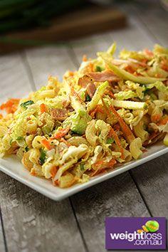 Macaroni Waldorf Salad Recipe. #DietRecipes #WeightLossRecipes #SaladRecipes  weightloss.com.au