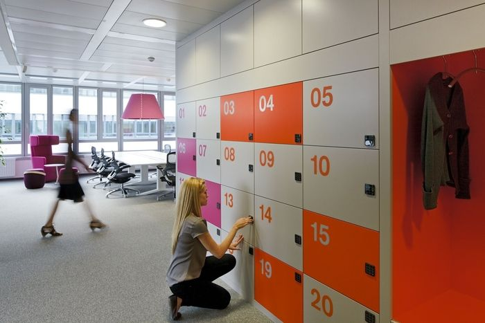 M.O.O.CON has developed a new office space for global pharmaceutical company GlaxoSmithKline located in Vienna, Austria.