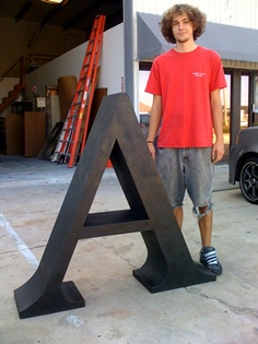 1000 images about props on pinterest armors trade show for Giant foam letters diy
