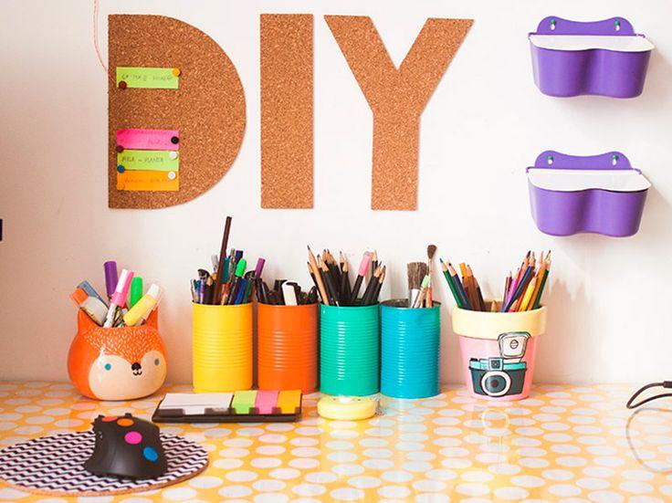 Como fazer um mural de letras de cortiça - dcoracao.com - blog de decoração e tutorial diy