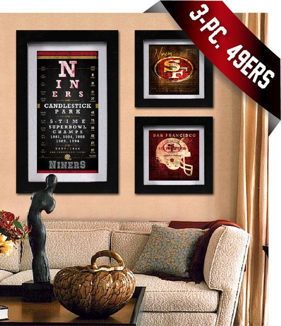San francisco 49ers fans will score big with this 3 piece combo this special