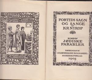 """""""Jødiske parabler - Fortids sagn og sange bind 4"""" av Kristoffer Nyrop"""