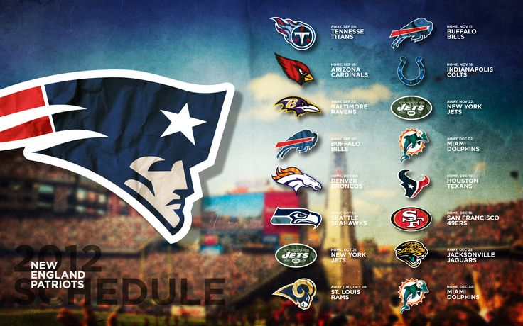 2015 Patriots Schedule Wallpaper - WallpaperSafari