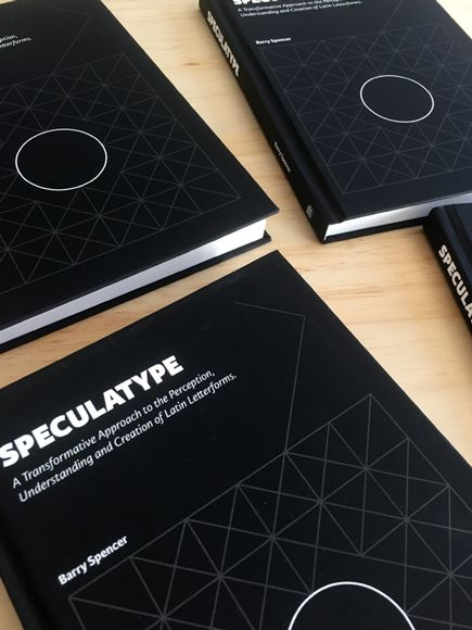 Speculatype Book | Barry Spencer