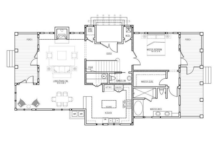 The Margaritaville House Plan 39 S 1st Floor Floor Plans