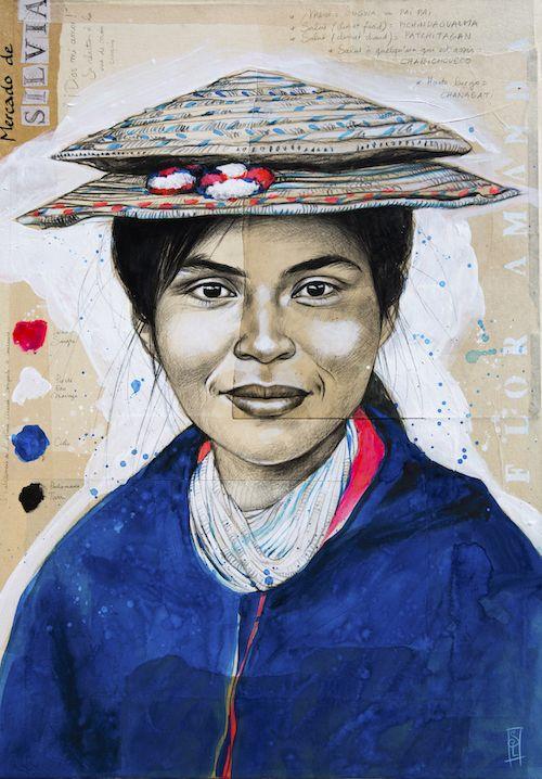 Flor Amanda - Ethnie Misak (Colombie) by Stephanie Ledoux
