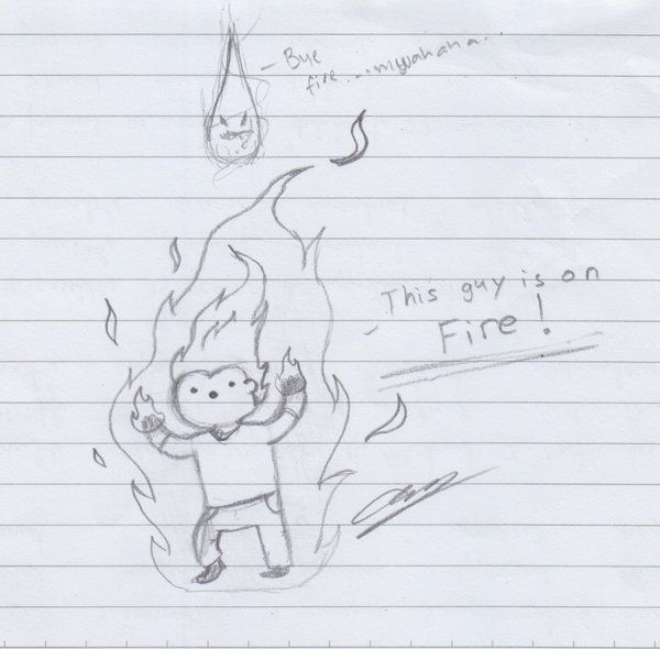 This Guy Is On FIRE! by amsuherdi1111.deviantart.com on @deviantART