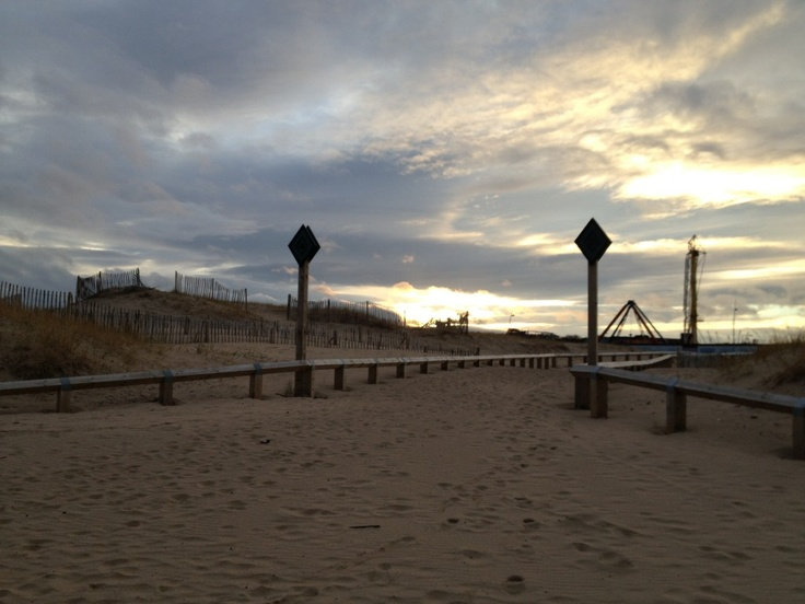 South Shields seafront.
