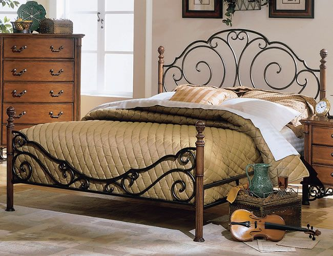 423 best IRON BEDS images on Pinterest Bedroom Bedrooms and Cottage