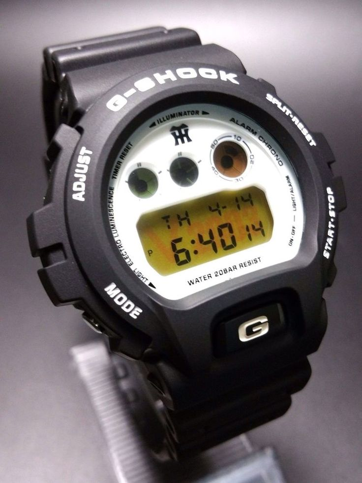G-SHOCK DW-6900BHTGV-9JF 2003 YEARS VERSION OF THE HANSHIN TIGER VICTOR #GSHOCK #Casual