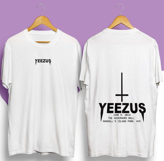 Yeezus shirt Yeezus tour shirt Yeezus tshirt Yeezy by BuyOrCry