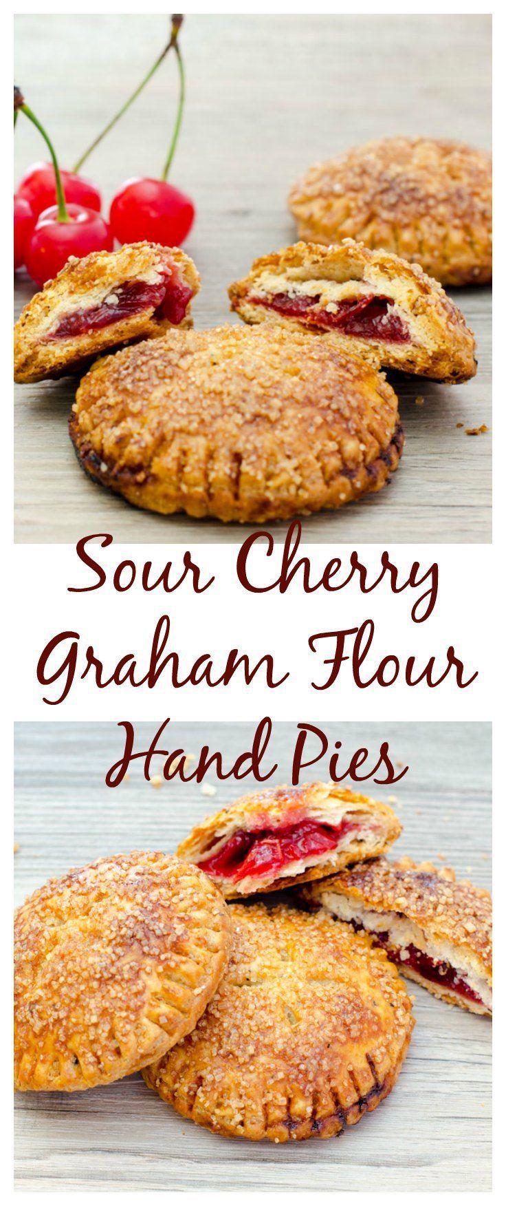 Sour Cherry Graham Flour Hand Pies