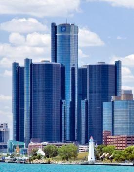 GM Renaissance Center Tours (12 & 2pm) | Detroit Riverfront Conservancy