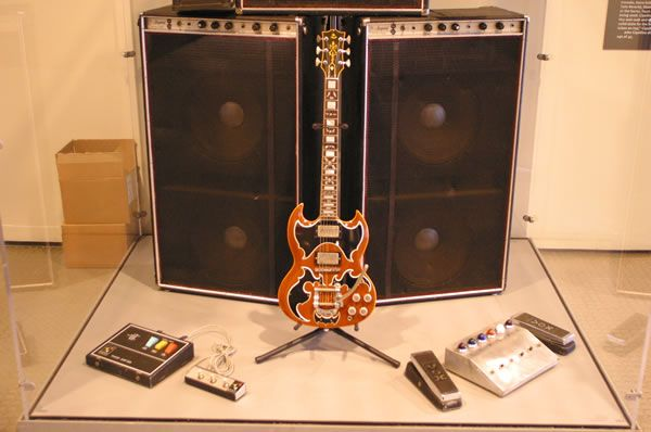 John Cipollina Lower Amplifier Stack and Gibson SG
