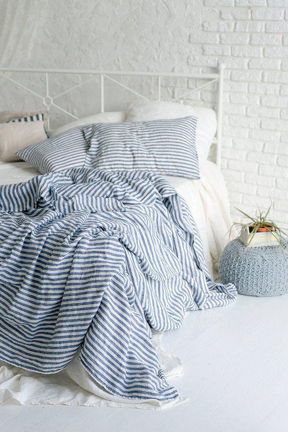 Flax Bed Linen Natural Softened Linen Duvet Cover Twin Full Etsy Linen Duvet Cover Twin Bed Linens Luxury Linen Duvet Covers