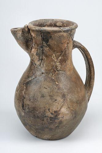 Vessel. Ceramic. Tatinger ware of Central-European provenance. Grave find, Björkö, Borg, Adelsö, Uppland Sweden. SHM 34000:Bj 457. In the Historiska Museet, Stockholm.