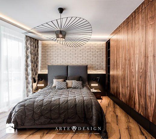 Mieszkanie w Gdańsku - Sypialnia, styl nowoczesny - zdjęcie od Arte Dizain