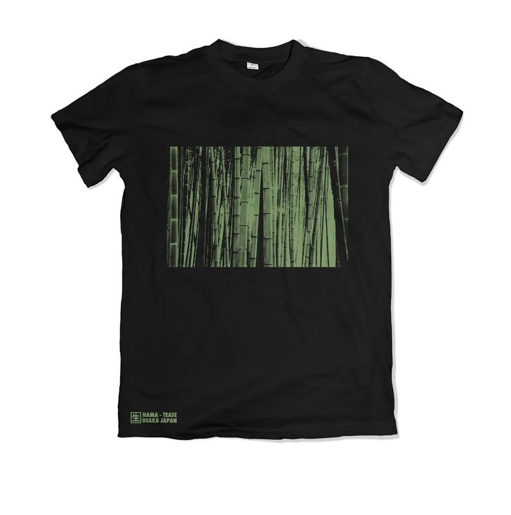 Bamboo Forest T-Shirt - Black