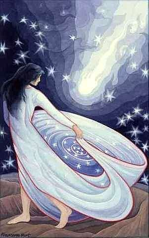 Arianrhod – Goddess of the Silver Wheel | the moon and the womb