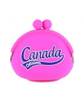 Fuchsia Canada Jelly Coin Purse
