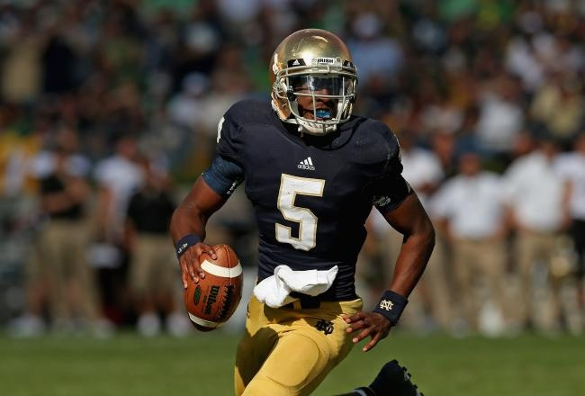 Two of the more storied programs in all of college football square off in South Bend this Saturday night, as the 18th- ranked Michigan Wolverines pay a visit to the 11th-ranked Notre Dame Fighting Irish.