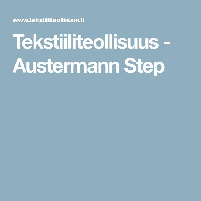 Tekstiiliteollisuus - Austermann Step