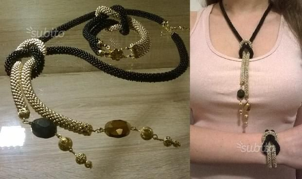 Collana bracciale fatti a mano - Abbigliamento e Accessori In vendita a Roma