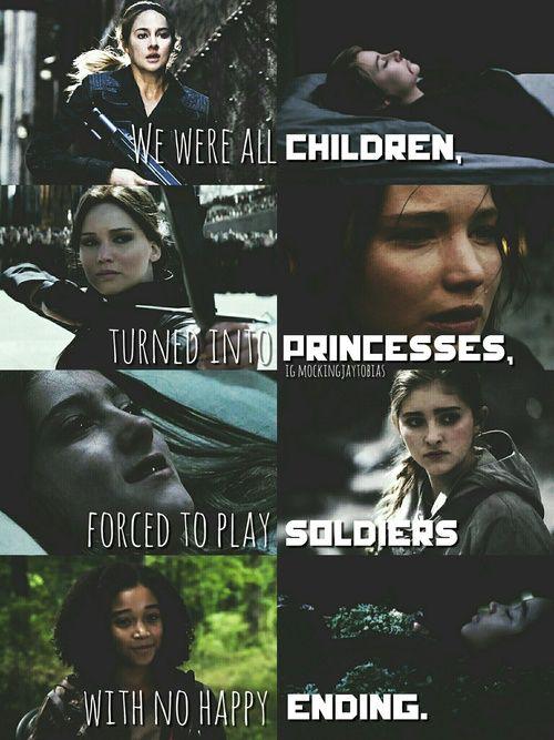 Todas eramos niñas, convertidas en princesas, forzadas a ser soldados sin finales felices