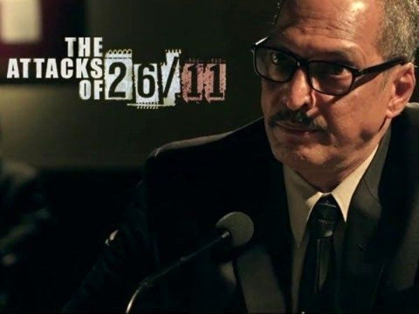 The Attacks of 26/11 movie's poster.