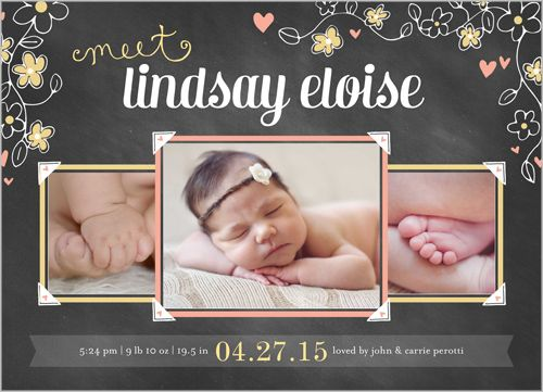 1000 images about Shutterfly Baby M – Shutterfly Baby Announcements