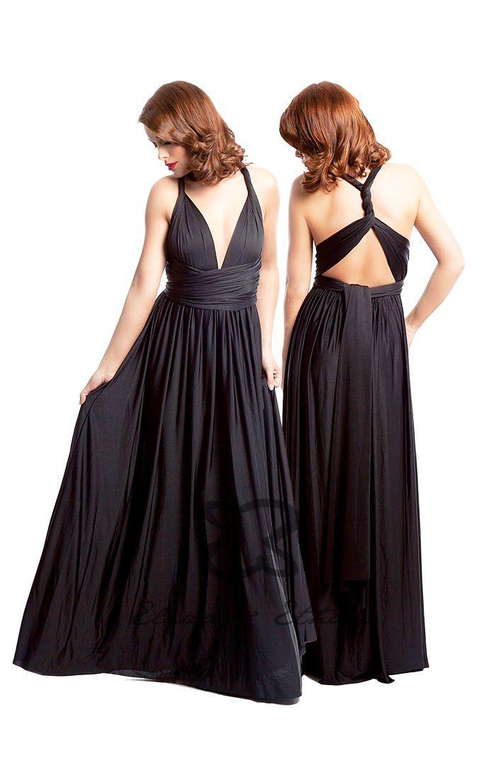 Eliza & Ethan Multi-Wrap Dress Tutorial - Style 14                                                                                                                                                                                 More