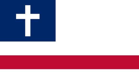 The New Christian Flag By Achaley Christian Flag Flag Art Flag
