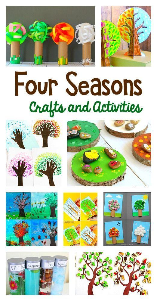 best 25 four seasons art ideas on pinterest four seasons four seasons painting and fused. Black Bedroom Furniture Sets. Home Design Ideas