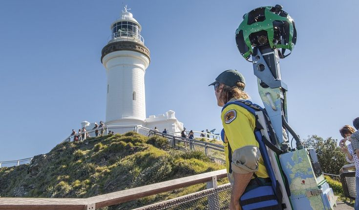 Over the last year NSW National Parks has mapped over 1100km of Google imagery across NSW (including Byron) using Google's street view Trekker. NPWS rangers took the backpack-mounted Trekker into 20 national parks around NSW and captured over 150 attractions.  So now you can visit national parks without ever getting off your bum (!!) or preview them before you head out there. Photo John Spencer