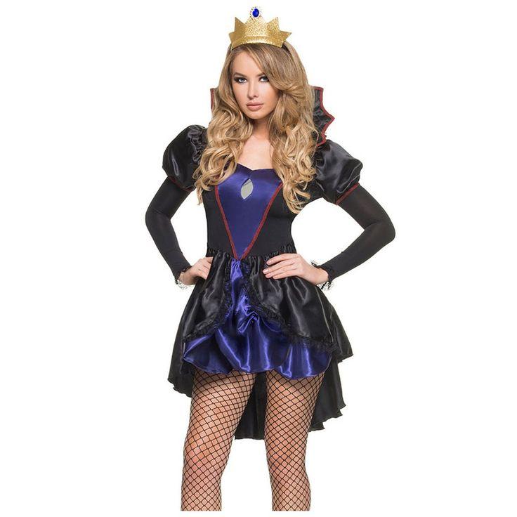 Royal Evil Queen Halloween Costume LAVELIQ