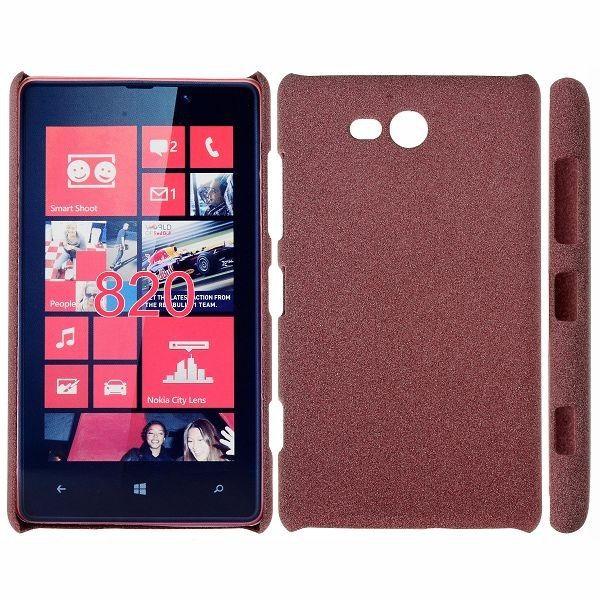 RockSand (Brun) Nokia Lumia 820 Deksel