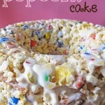 Popcorn Cake....looks like a total diet disaster, but mayyyybe I can splurge