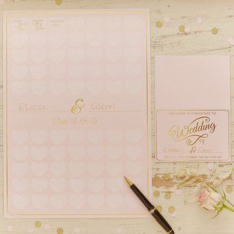 Pastel Perfection - A3 Guest Book Poster