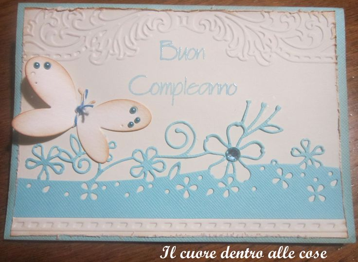 Birthday card - clean and simple