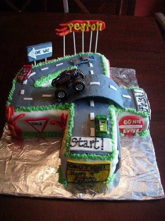 Best 25 Number 4 Cake Ideas On Pinterest 4th Birthday